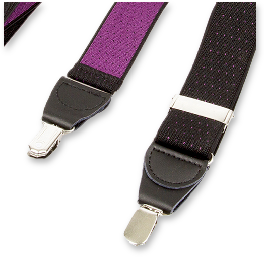 hosentr ger schwarz mit violetten p nktchen. Black Bedroom Furniture Sets. Home Design Ideas