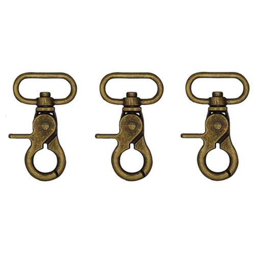 Lobster Hooks Brass - Wiseguy Suspenders (1)
