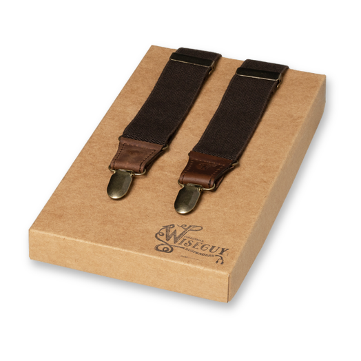 Wiseguy Suspenders - Charger - Braun (1)